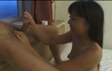 Japanese hoe enjoys sex