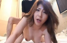 Japanese whore slammed deep and hard