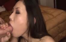 Amazing Asian babe feeling horny