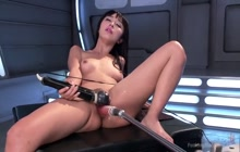 Marica Hase machine fucked