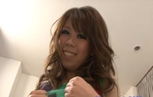 Japanese hottie wants it deep in her pussy