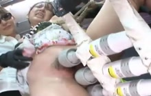 Japanese in bondage gets punished